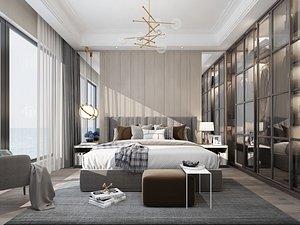 Modern Style Bedroom - 623 model