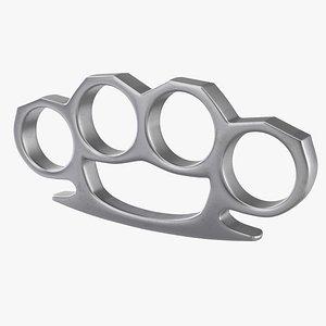 3D Knuckles model