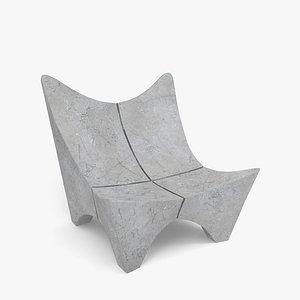 3D bench bkf 2000 model
