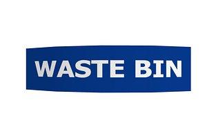 3D model wastebin tag