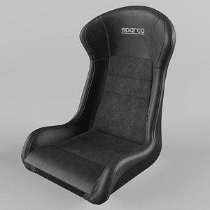 3D model Sparco STRADALE PERFORMANCE Sports Racing Seat