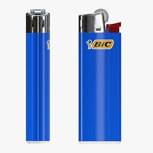 BIC classic lighter 3D model