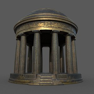 public buildings-dome building 3D model