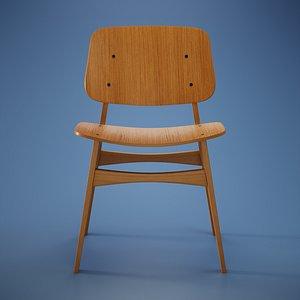 Soborg Chair 3D