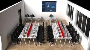 PC Training Classroom model