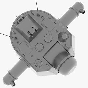 3D e-75 radar rangefinder