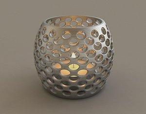 PRINT---CANDLEHOLDER 020 3D model