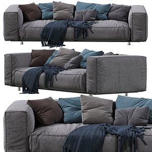 3D sofa edra model