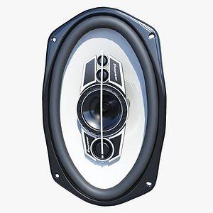 3D Pioneer TS-A6995R Coaxial Speaker