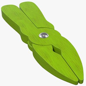 3D Wooden Pliers Toy