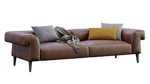 leather sofa gianfranco model