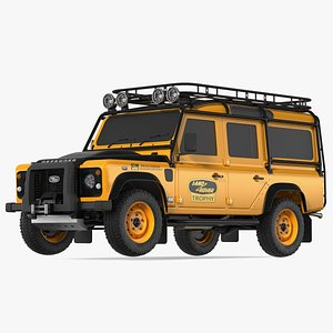 3D Land Rover Defender Clean Exterior Only