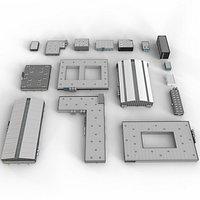 industrial building SIII set