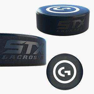 Ice Hockey Puck 3D model