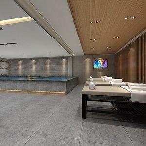 Spa Recreation Center 3D model