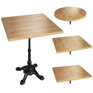 3D table leg