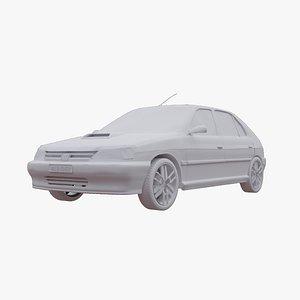3D model Peugeot 306