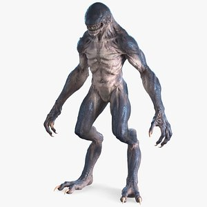 monster creature extraterrestrial model