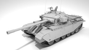 Main Battle Tank Centurion MkIII 3D