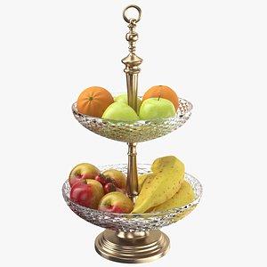 3D Fruit Stand Centerpiece model
