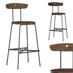 anna stool 3D model