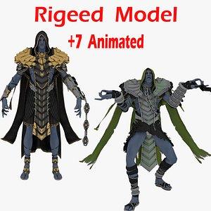 Ancient Oni 3D model