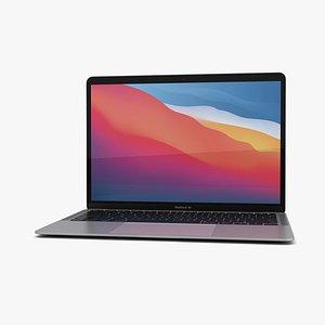 3D model apple macbook mac