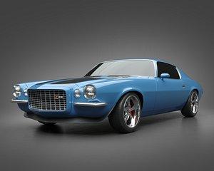 1972 Chevrolet Camaro Z28 3D model
