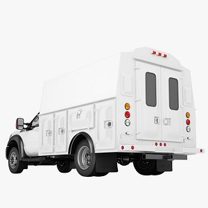 Ford F450 2012 Service Truck 01 3D