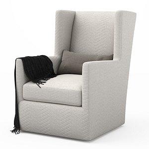 3D swivel chair