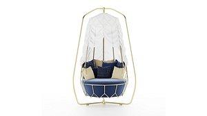 Roberti Rattan Gravity swing sofa12014 model