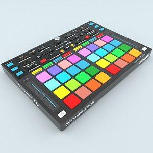 DJ Controller Pioneer DDJ-XP2 3D model