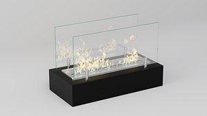 bio fireplace 3D