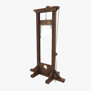 guillotine roughness pbr 3D model