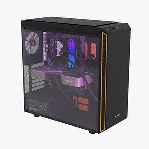 3D Gaming Desktop PC model