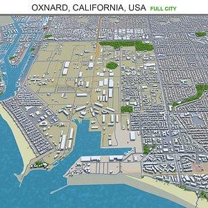 Oxnard California USA 3D model