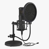 Tbone SC 420 USB Desktop Microphone Set