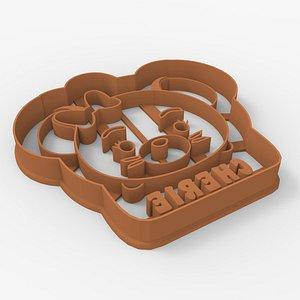 Cookie Cutter - Tsum Tsum Cherie 3D model
