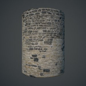 Medieval stone wall