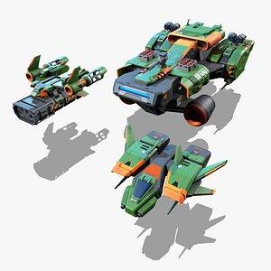 RTS - Space Games Vol - 02 3D model