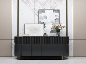 3D Modern Style Console - 002