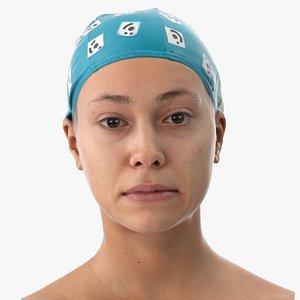 3D head human scan model
