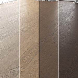 Wood Floor Set 14 3D