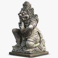Bali Demon Statue 1