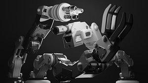 robot turret 3D model