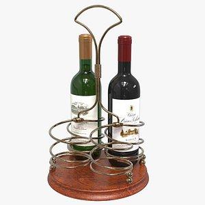 3D bottle holder