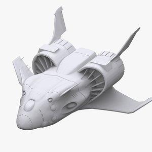 3D gundam zeon zanzibar model