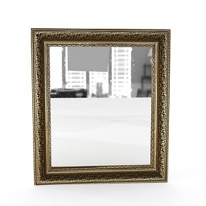 frame mirror 5 antique model