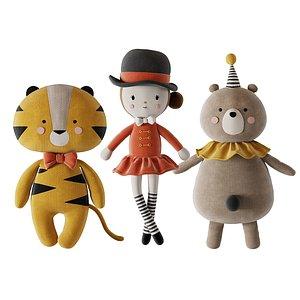 Plush Toys 09 3D