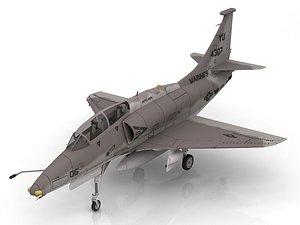 Douglas A-4D Skyhawk V10 RAN 3D model